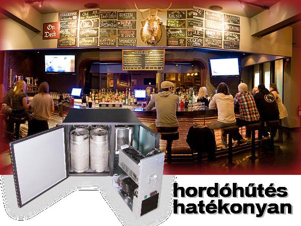 Új hordóhűtő termékcsalád - Tartsa hidegen a sört, hogy megemlegessék a vendégei!
