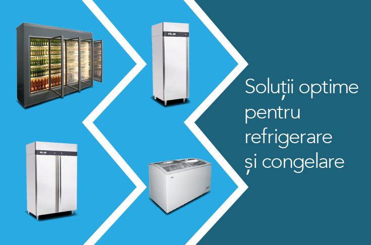 Soluții optime pentru refrigerare și congelare!