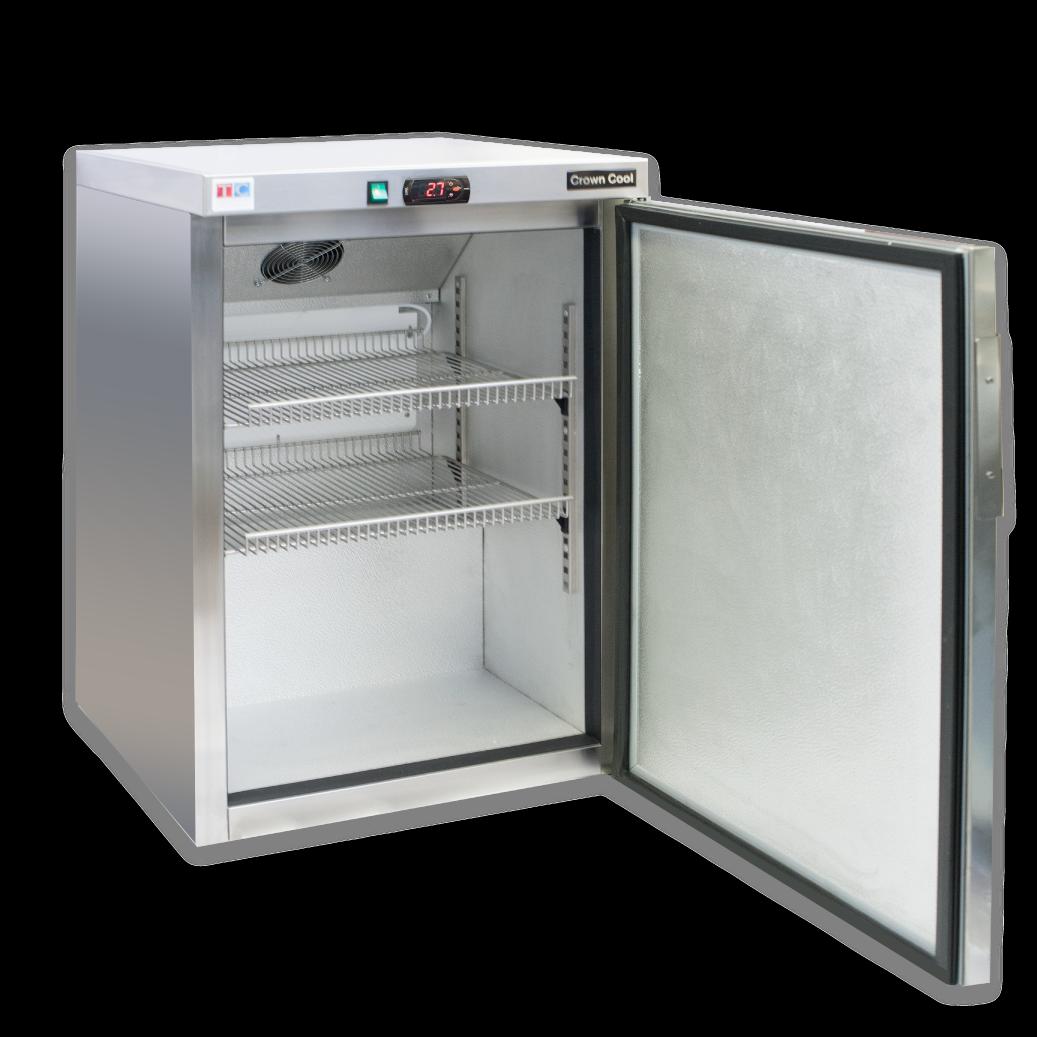 Rozsdamentes ipari hűtőgép