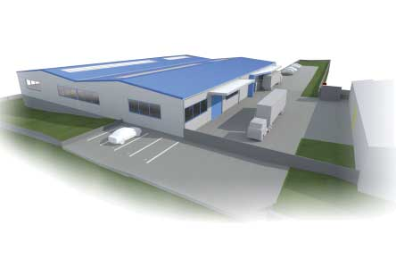 Új gyárüzem Tatabányán
