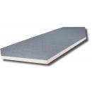 Korróziómentes panel 20 mm - kétoldalon mintás borítással 80/80 mikron