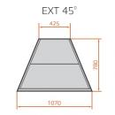 LCC Carina 03 EXT45 | Külső sarokpult