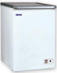 UDD 100 CK - Felnyitható üvegtetős mélyhűtőláda