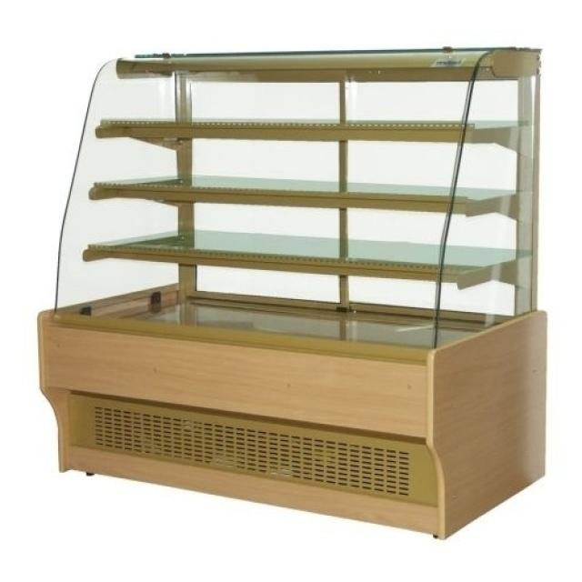 WCHCN 1,4 Neutral - Süteményes pult fa borítással
