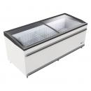 BODRUM FR - Chest freezer with sliding curved glass top
