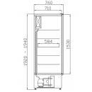 SCh-1/700 LUNA - Teleajtós hűtőszekrény