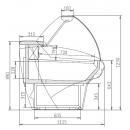 Giove-2 135 - Csemegepult (Statikus)