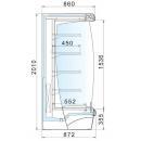 Argus ST 100 | Hűtött faliregál