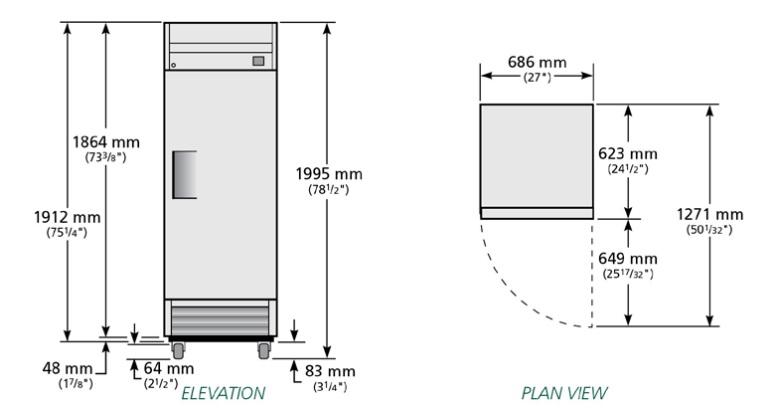 T-19E - Hűtőszekrény