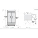 T-35-HC-LD - Hűtőszekrény