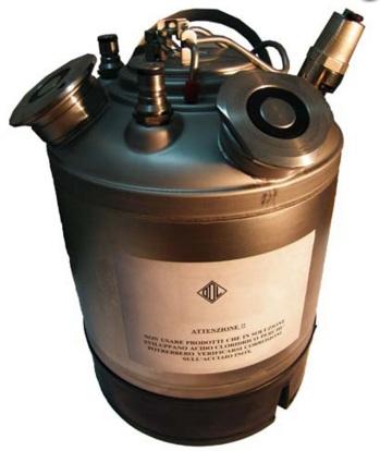 Mosóhordó - 9 literes, 2 kivezetéssel