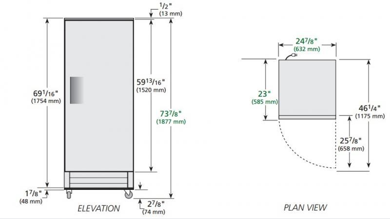 T-15-HC-LD - Hűtőszekrény