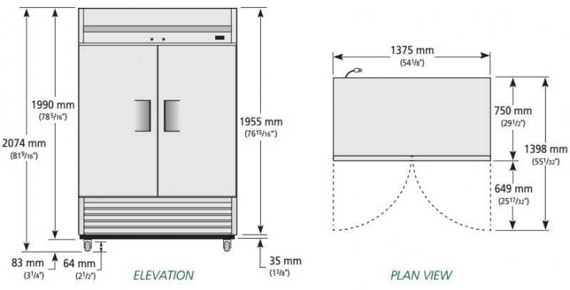 T-49-HC-LD - Hűtőszekrény