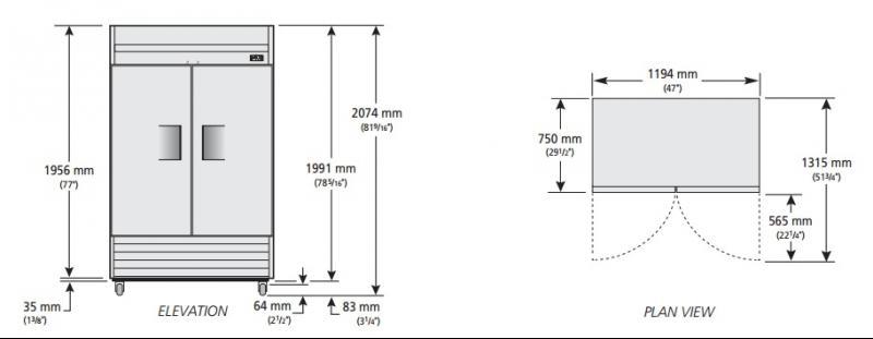 T-43-HC-LD - Hűtőszekrény