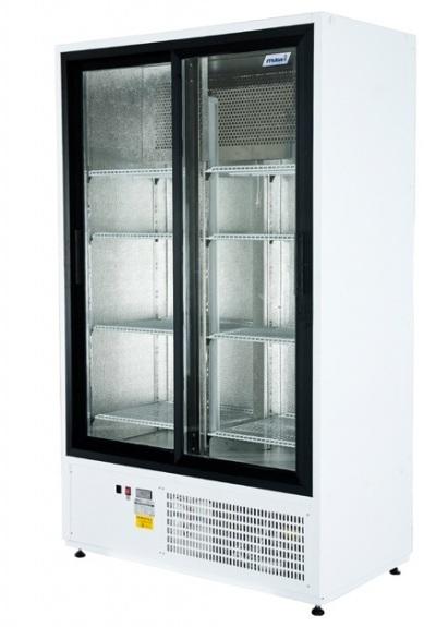 SCH 1000 R - Csúszó üvegajtós hűtővitrin