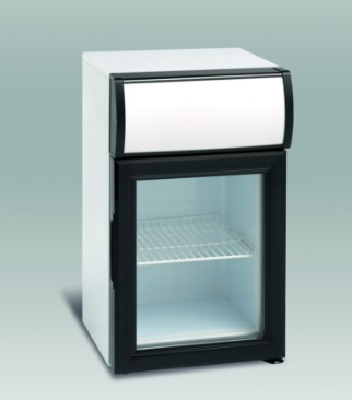 SC 20 - Üvegajtós hűtővitrin