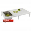 Vágólap asztal 650x400x110 mm