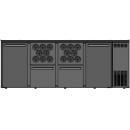 DCL-2112 MU/VS - Bárhűtő 2 ajtóval, 2 fiókkal, 2 palacktartóval