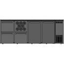 DCL-3122 MU/VS - Bárhűtő 2 ajtóval, 2 egyforma fiókkal, palacktartóval plusz 1 fiókkal