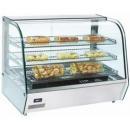 RH 120 Display warmer with curved glass display