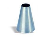 Habcső kör alakú nyílással 2 mm