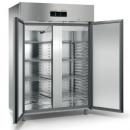 ME150T - Double door stainless steel refrigerator