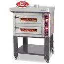 PBT-VS 2620 - Teljes samot belső burkolású pizzakemence