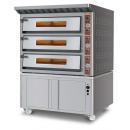 UMF 3000 - Háromszintes elektromos pizzakemence
