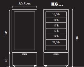 KG8QV - Parfé vitrin