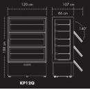 KP12Q - Süteményes pult
