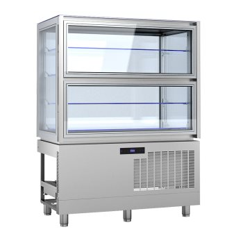 KD12Q2M - Beépíthető parfé vitrin