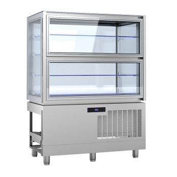 KC12Q2M - Beépíthető süteményes vitrin