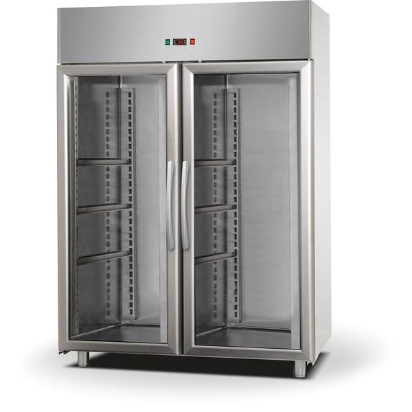Af14ekombtpv Upright Freezer With Glass Door Tc Hungary