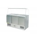 MASTER SALAD C700 - 184 literes tálalóasztal üvegtetővel