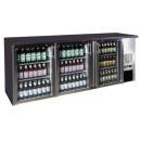 TC-BB-3GDI INOX Három üvegajtós bárhűtő