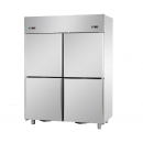 A414EKOPN - Combined 4-door cooler and freezer
