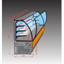EVO 60 - Süteményes pult (telepített aggregáttal)