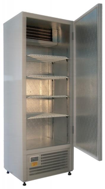 CC 635 (SCH 400) INOX | Teleajtós rozsdamentes hűtőszekrény