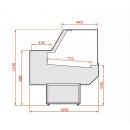 LCD Dorado 03 1,2 - Csemegepult beépített aggregáttal