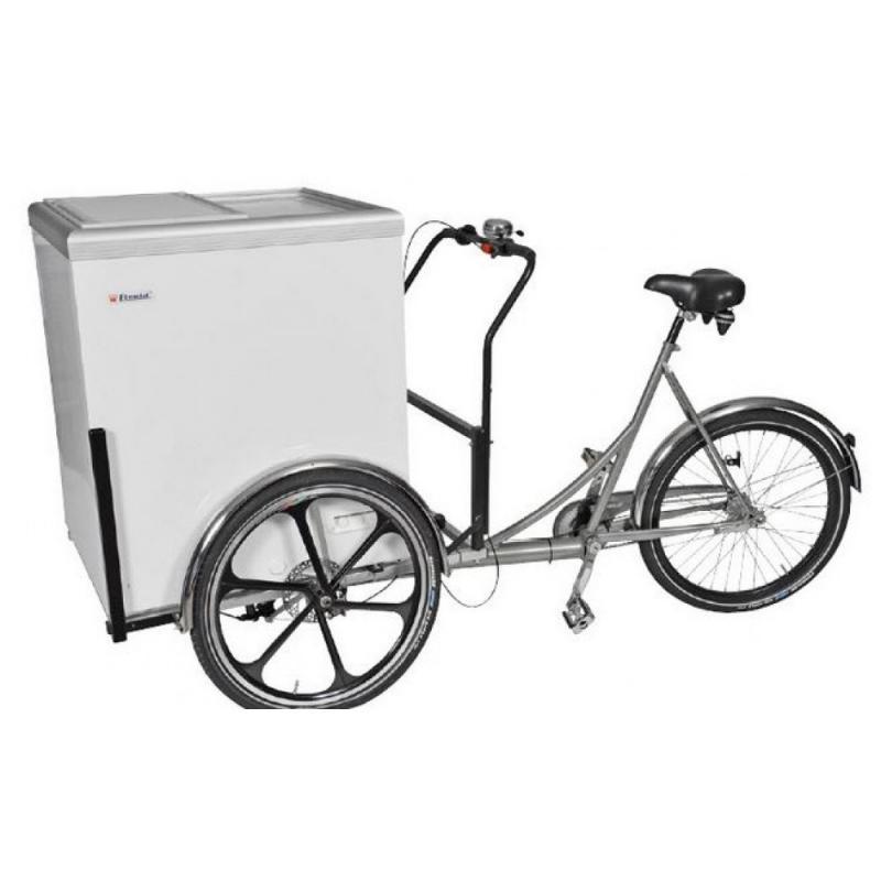 EC MOBILUX 11 - Fagyasztó/hűtőláda triciklivel