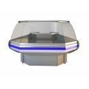 NCHIMZ 1,4/1,2 - Hajlított üvegű külső sarokpult (90°)