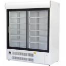 SCh-1-2/1400 WESTA - Csúszó üvegajtós hűtővitrin