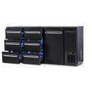 DCL-662 MU/VS | Bárhűtő 1 ajtóval, 6 egyforma fiókkal