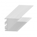 Rejtett csatlakozó profil - alumínium, 30 mm