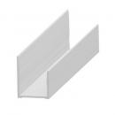 """""""U"""" profil - alumínium 20 mm"""