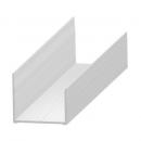 """""""U"""" profil - alumínium 30 mm"""