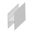 """H"" profil - alumínium 20 mm"