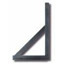 Derékszögű vonalzó - alumínium, 0,7m