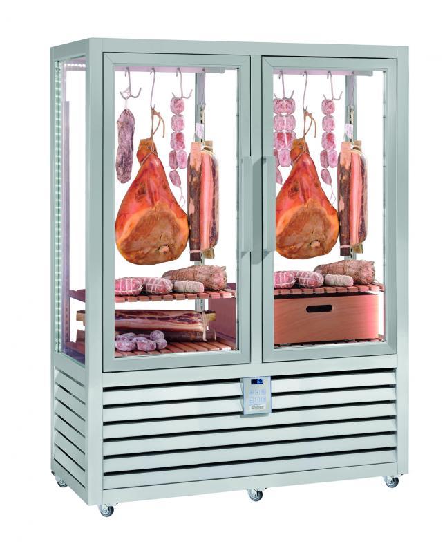 NSM 900 G - RLC / CL Üvegajtós húsérlelő vitrin