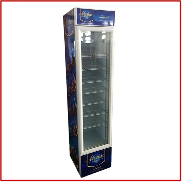 SC-145B-M - Üvegajtós hűtővitrin